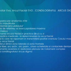 04_BACK_Curs Articulatorul Protar Evo, Arcul Facial EVO , CONDILOGRAFUL ARCUS DIGMA - 900 lei
